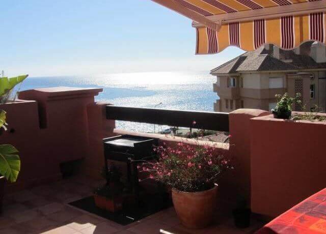 4325 AP2 terrace view South - Torrox Punta del Faro